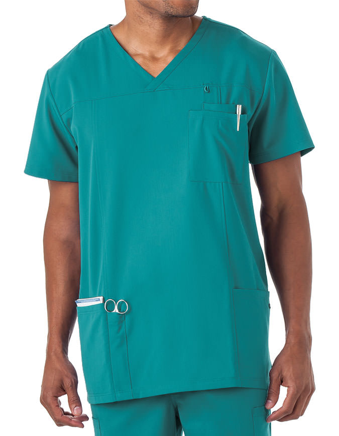 Jockey Scrubs Men's Seven Pocket Scrub Top