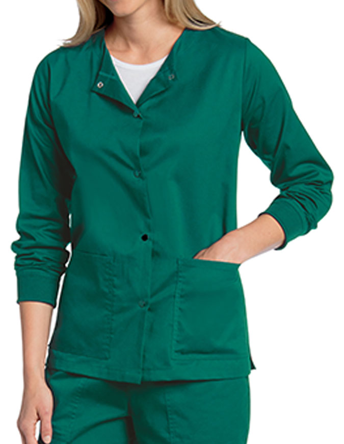 Landau All Day Women's Contemporary Fit Warm-up Jacket