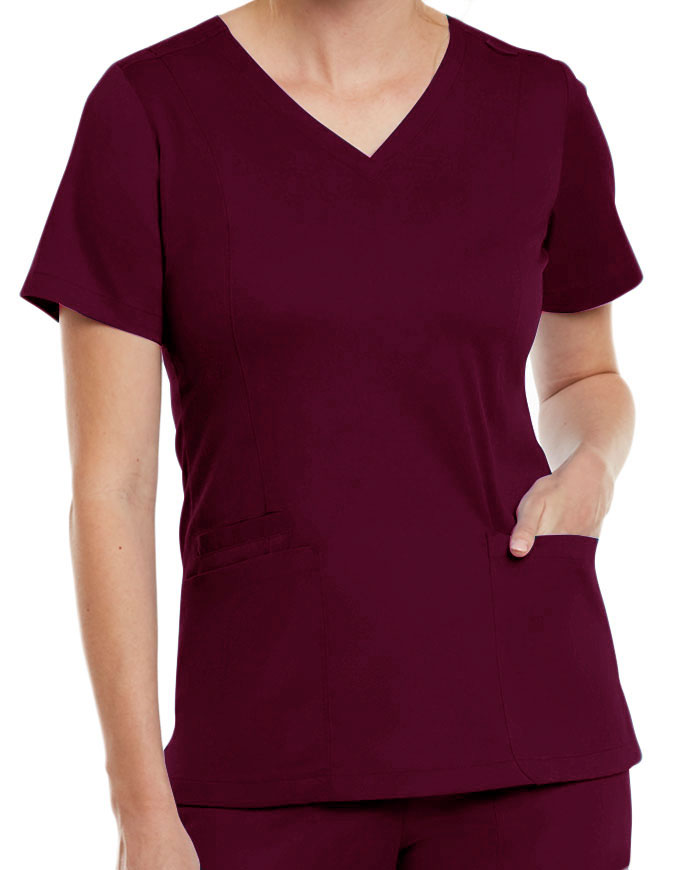 Maevn Matrix Women's Both Side V-Neck Top