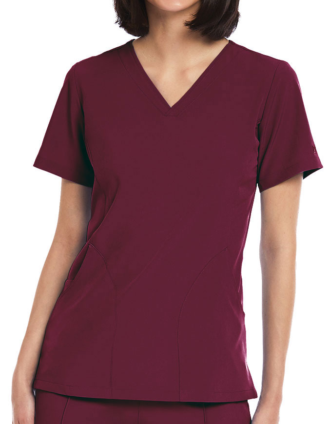 Maevn Matrix Impulse Women's V-neck top