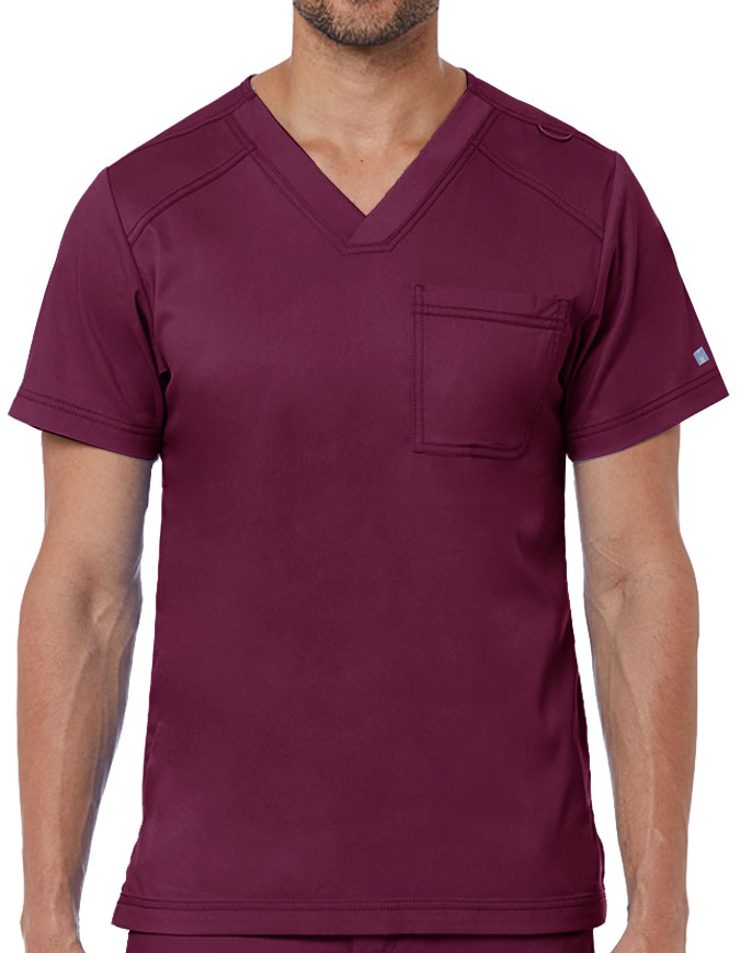 Maevn Matrix Men's Basic V-Neck Top