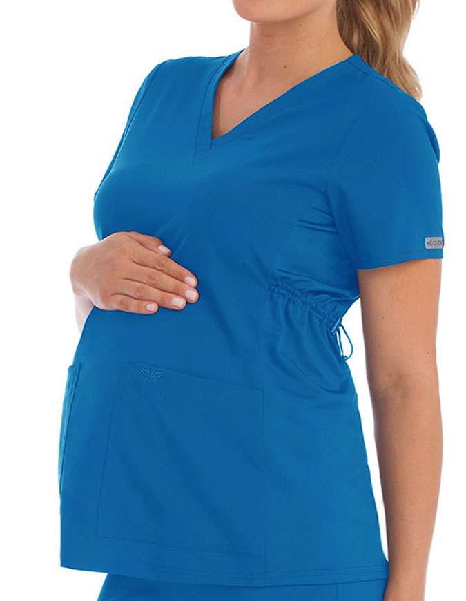 Med Couture Activate Women's Maternity Scrub Top