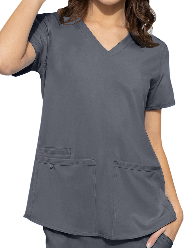 Med Couture Energy Women's Racerback Shirttail Top