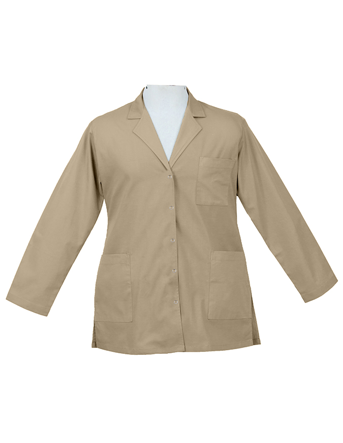 Panda Uniform Women's 32 Inch Snap Front Lab coat