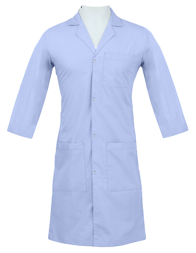 Panda Uniform Unisex Snap Front 40 Inch Lab coat