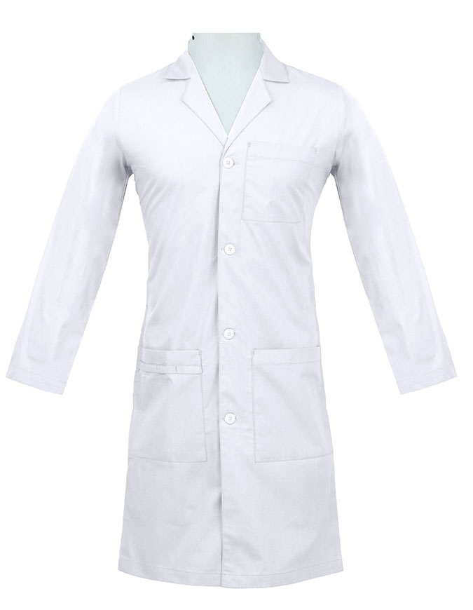 Panda Uniform Unisex 40 Inch Colored Lab Coat