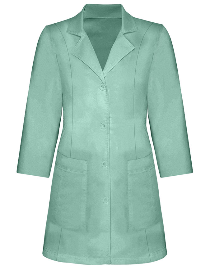 Panda Uniform Women's 30 Inch length Colored Lab Coat
