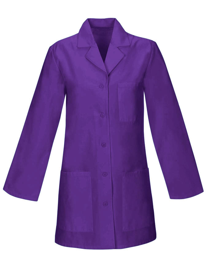 Women 32 inches Three Pocket Multiple Colors Short Lab Coat