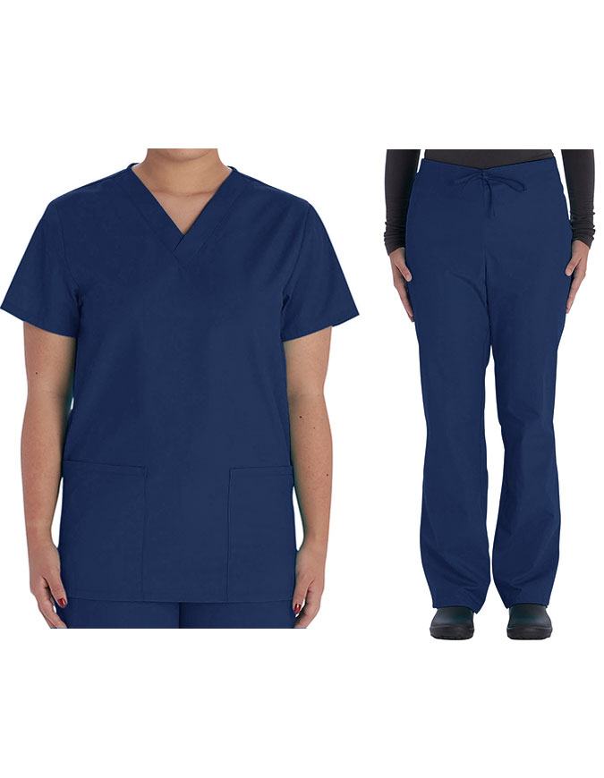 Vital Threads Unisex V-Neck Scrub Sets
