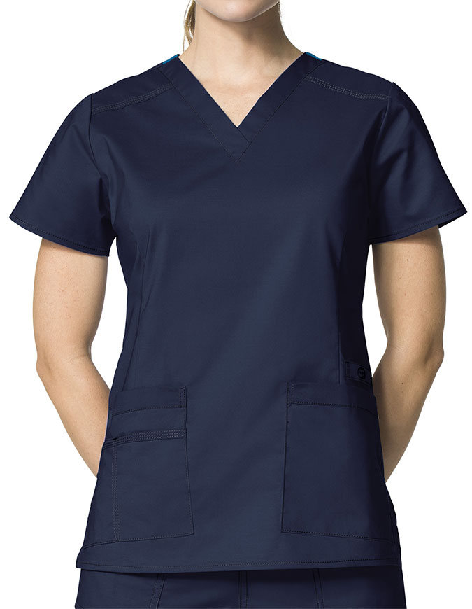 5ee5e04b777 Wink Scrubs Lady Fit V-Neck Nursing Scrub Top