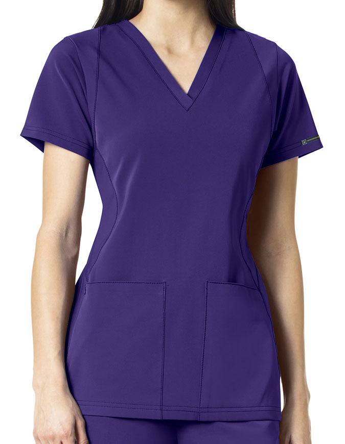 WonderWink HP Women's Sync V-Neck Scrub Top