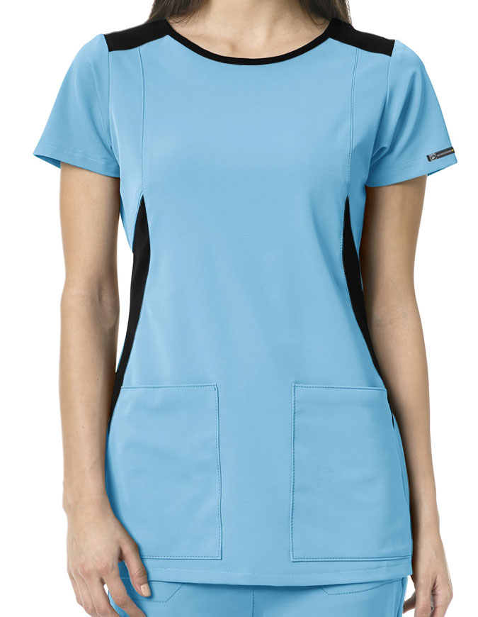 WonderWink HP Women's Neo Boat Neck Scrub Top
