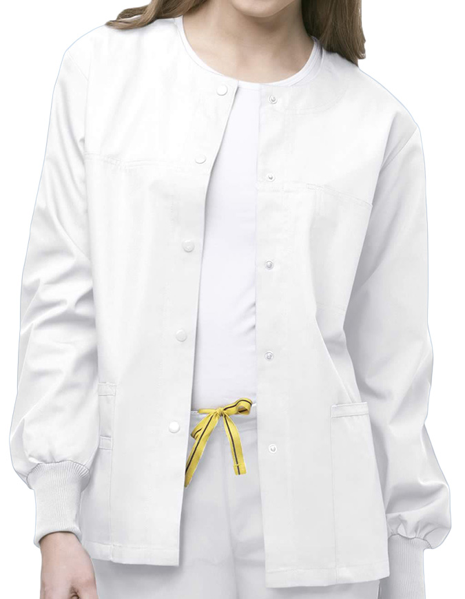 Wink Scrubs Unisex The Delta Round Neck Nursing Jacket