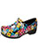 Anywear Women's Fine Feathered Friends Closed Back Plastic Clog