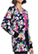 Cherokee Women's Stay Curious Print Warm-up Jacket