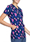 Cherokee Women's Brush It Printed Mock Wrap Topp