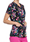 Cherokee Women's Bouquets Of Hope Printed V-Neck Topp