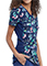 Cherokee Women's Turtley Awesome Print V-Neck Knit Panel Top