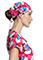 Tooniforms Unisex Adopt Today Print Adjustable Tie-back Scrub Hat