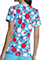 Tooniforms Women's Spotting Trouble Print V-Neck Top