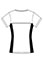 Cherokee Workwear Revolution Women's V-Neck Knit Panel Top