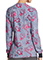 Dickies Women's Care Slow Much Prints Snap Front Warm-Up Jacket