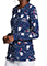 Dickies Flossed In Space Prints Snap Front Warm-Up Jacket For Women's