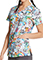 Dickies Daily Dose Of Magic Prints V-Neck Top For Women's