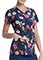 Dickies Women's Floral Throwback Prints V-Neck Top