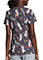 Dickies Women's A Different Beat Print V-Neck Top