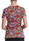 Dickies Women's Stay On Tropic Print V-Neck Top
