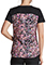 Dickies Women's Fast Forward Floral Print V-Neck Top
