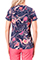 Healing Hands Isabel Women's in Whimsical V-neck Scrub Top