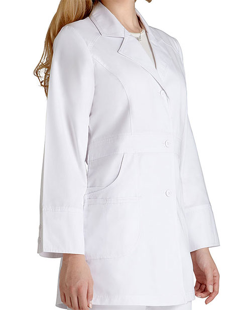 Adar Women 32-Inch Perfection White Medical Lab Coat