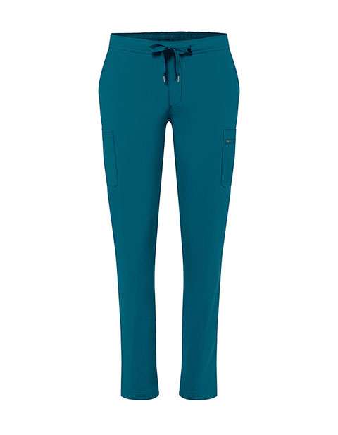 Adar Addition Women's Skinny Leg Mid-rise Addition Skinny Cargo Petite Pant