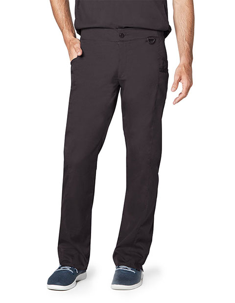 Adar Responsive Men's Zip Fly Easy Fit Tech Pant
