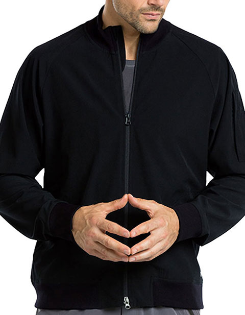 Barco One Men's Bomber Solid Color Warm up