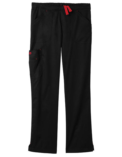 Bio Stretch Women'S Mega Pockets Cargo Scrub Pants