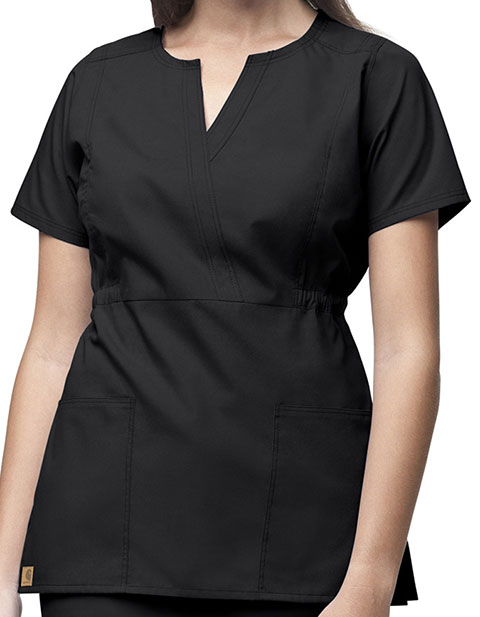 Carhartt Women Fashion Waist Fashion Scrub Top