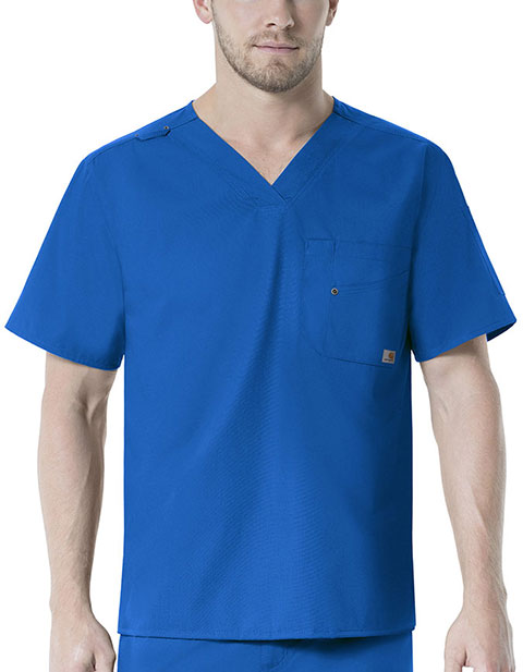 Carhartt Rockwall Men's Multi Pocket V-Neck Scrub Top