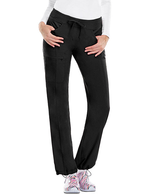 Certainty Antimicrobial Women's Low-Rise Straight Leg Drawstring Pant