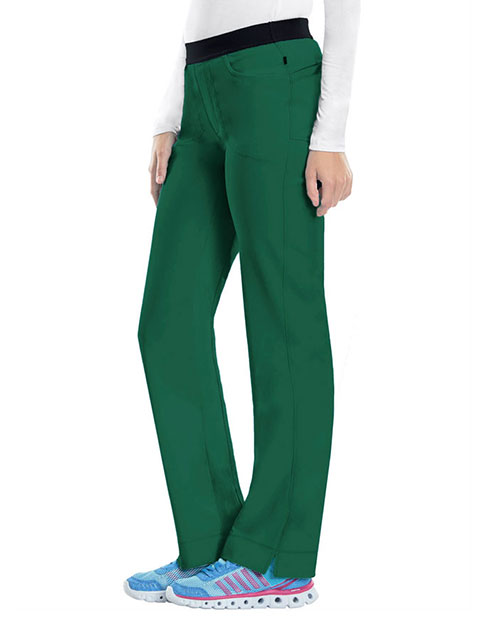 Certainty's Infinity Women's Low-Rise Slim Pull-on Petite Pant