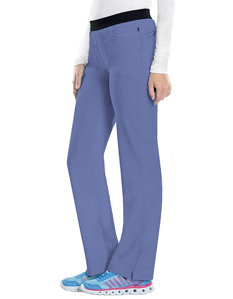 Certainty's Infinity Women's Low Rise Slim Pull on Tall Pant