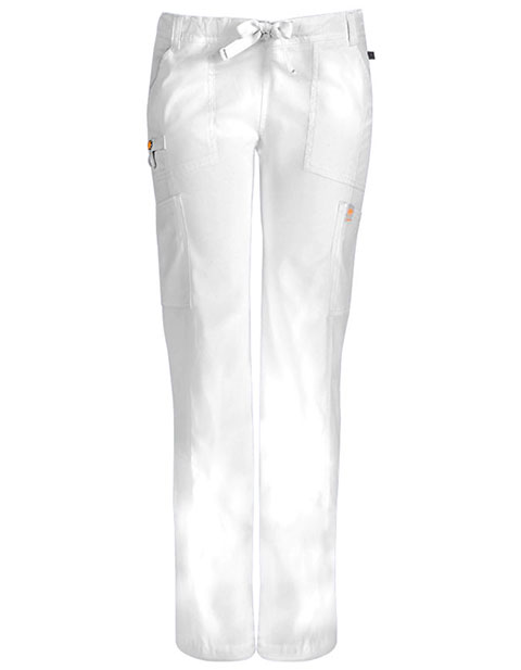 Certainty Petite Antimicrobial Women's Low-rise Drawstring Cargo Pant