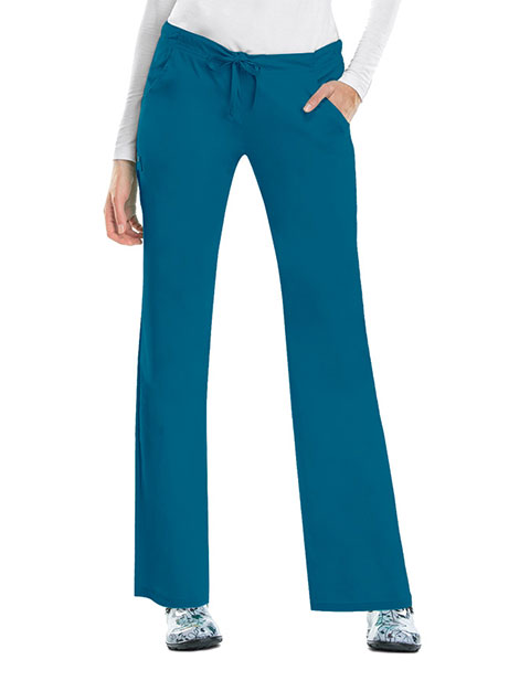 Cherokee Luxe Women Four Pocket Petite Scrub Pants