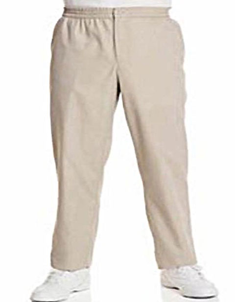 Men Elastic Waist Scrub Pants 36 inch Inseam