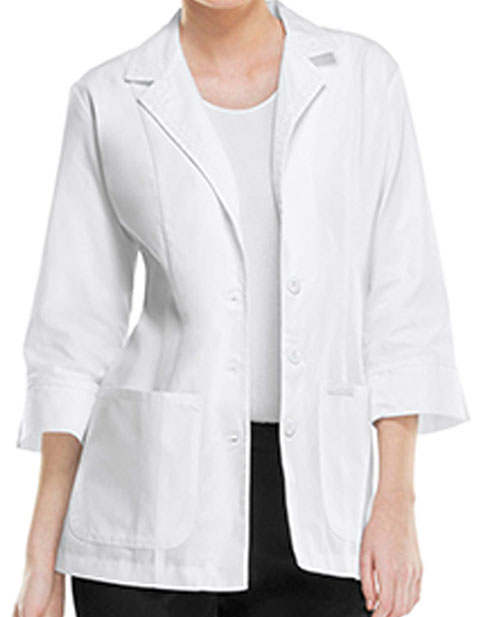 Cherokee Women Two Pocket Three Quarter 29 Inches Short Lab Coat