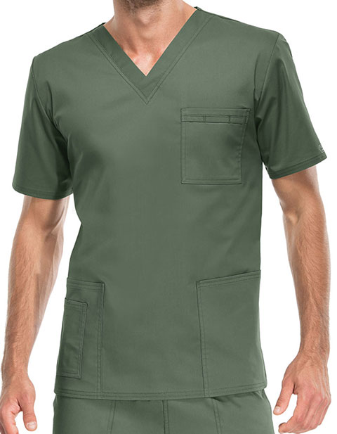 Cherokee Workwear Unisex V-Neck Nurses Scrub Top