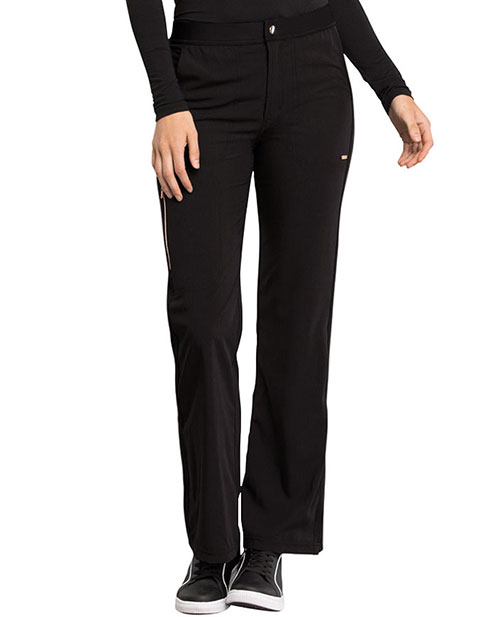 Cherokee Statement Women's Natural Rise Flare Leg Pant