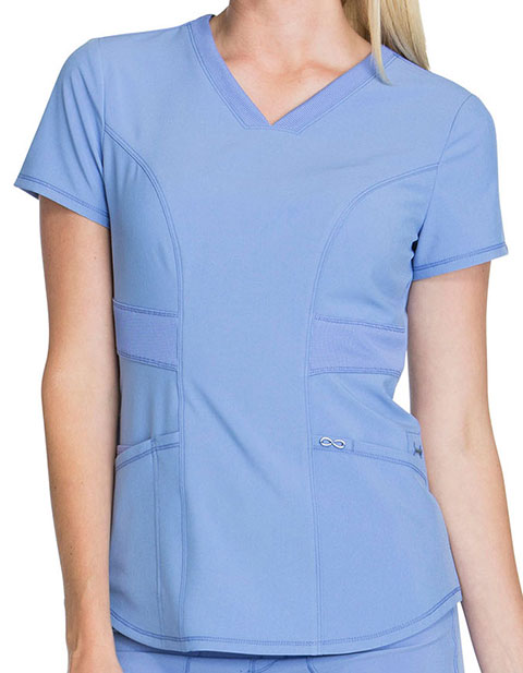 Cherokee Infinity Women's V-Neck Scrub Top